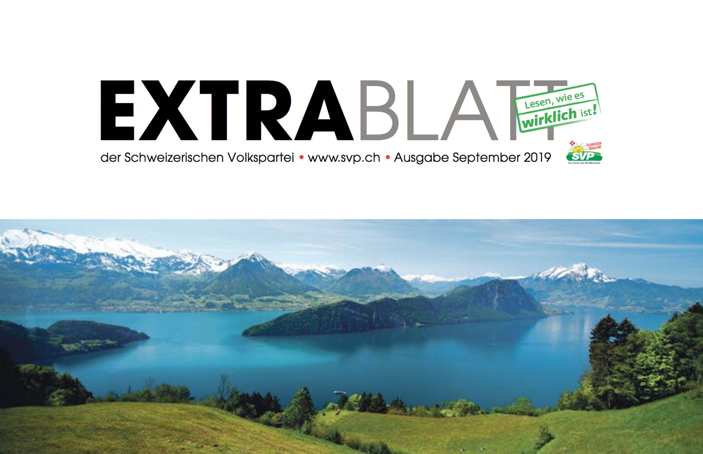Extrablatt September 2019